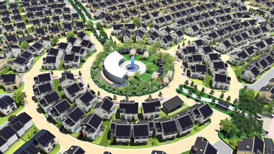 خانه خورشیدی-archina-ir