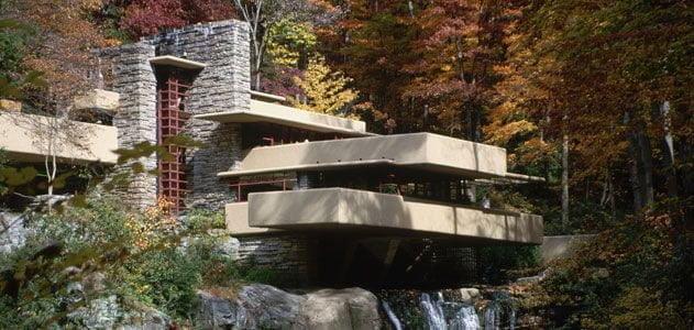 پاورپوینت معماری خانه آبشار-archina.ir
