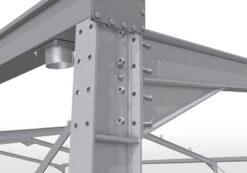 دانلود پاورپوینت شناخت اسکلت پیچ و مهرهای برای درس سازهی فلزی