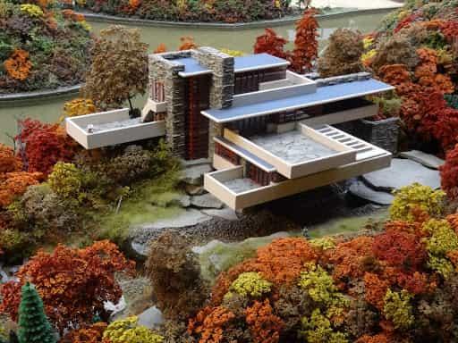 پاورپوینت خانه آبشار (دانلود مقاله تحلیل سبک معماری ارگانیک)
