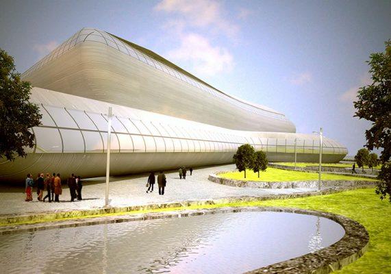 دانلود پروژه معماری بیمارستان 64 تختخوابی [پروژه طرح 4]