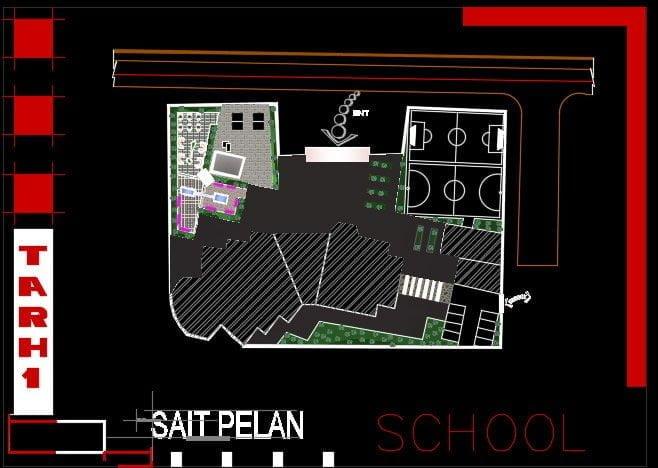 سایت پلان مدرسه