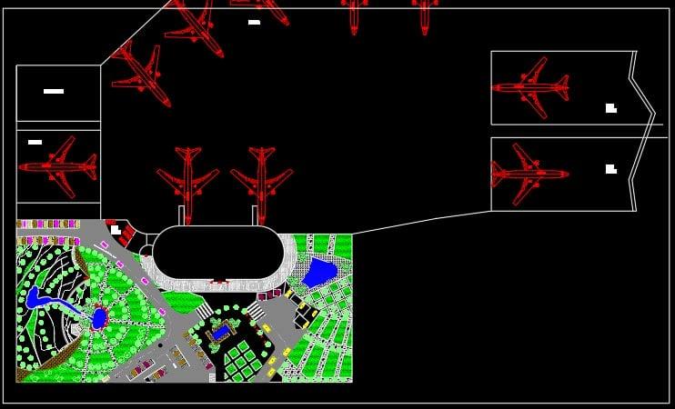 سایت پلان فرودگاه