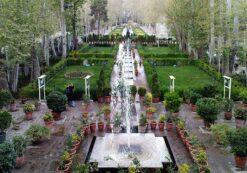 دانلود پاورپوینت معماری عناصر و اصول طراحی باغ های ایرانی