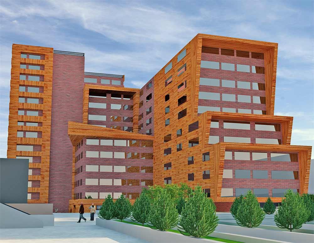 پروژه طرح 5 مجموعه مسکونی