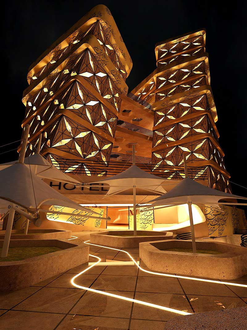 پروژه هتل 5 ستاره