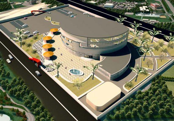 دانلود پروژه معماری بیمارستان برای طرح 4 بصورت کامل