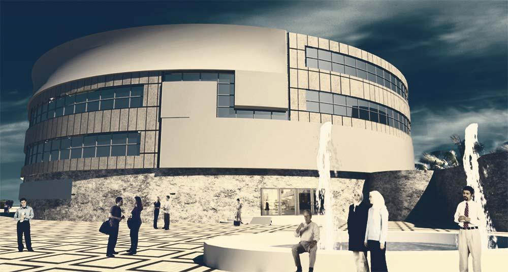 پروژه معماری بیمارستان 100 تختخوابی