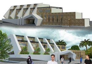 پروژه کامل دانشکده معماری