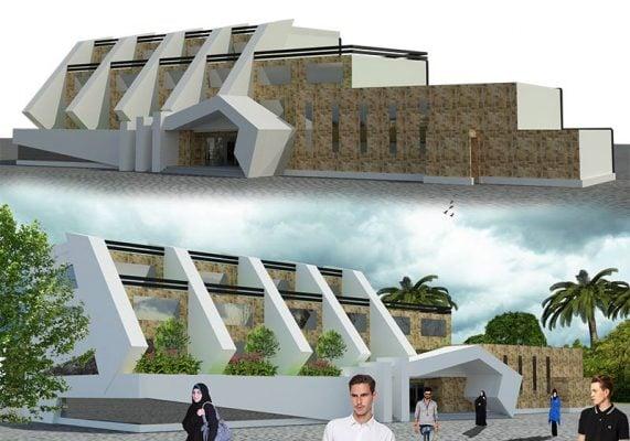 پروژه کامل دانشکده معماری (تمامی شیتها ، 3D ، پوستر)