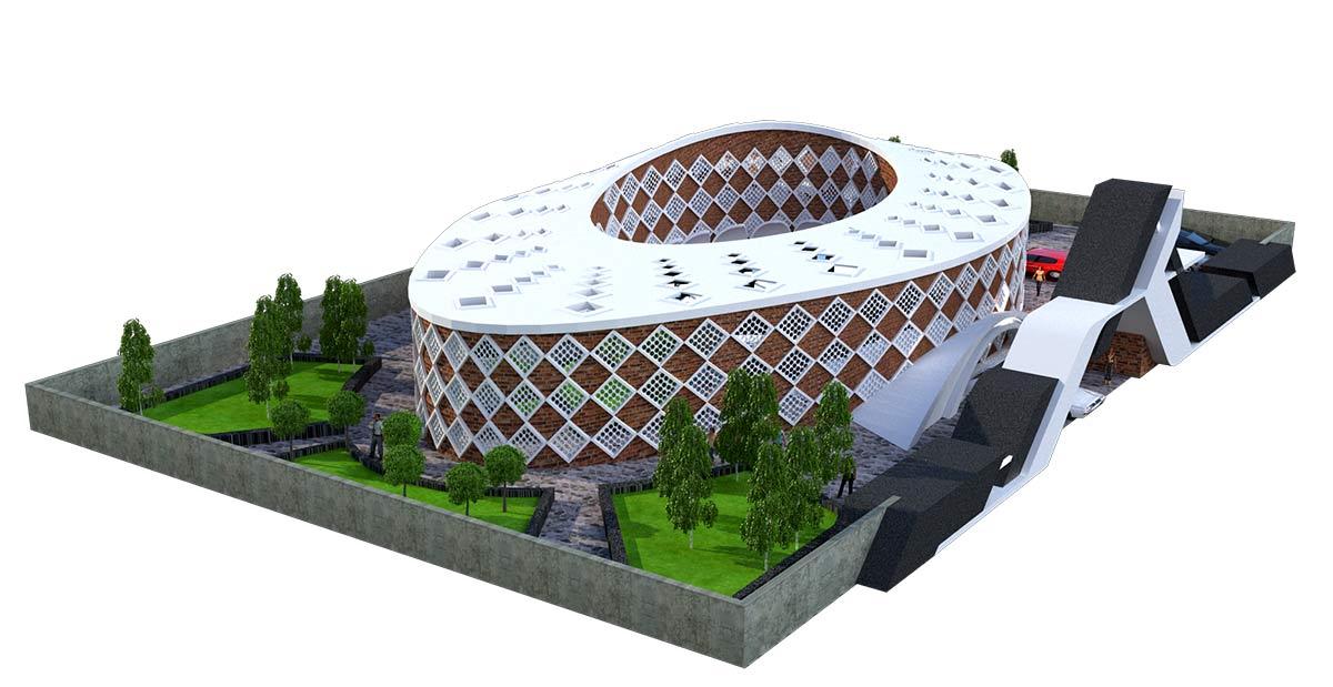 پروژه معماری سفارت خانه