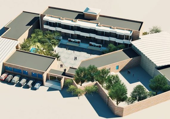 پروژه معماری طراحی مدرسه ابتدایی با الهام از معماری ایرانی