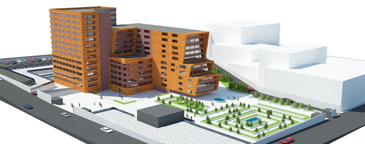 پروژه طرح ۵ مسکونی