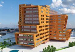 پروژه طرح 5 مسکونی [ طراحی کامل و بسیار زیبای مجتمع مسکونی ]