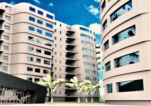 پروژه مجتمع مسکونی طرح ۵
