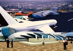 پروژه معماری فرودگاه