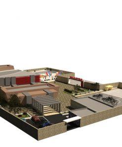 پروژه معماری مدرسه