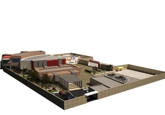 دانلود پروژه کامل مدرسه (طراحی معماری بسیار عالی و اختصاصی)