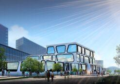 کلینیک درمانی [کاملترین و زیباترین پروژه طراحی معماری درمانگاه]