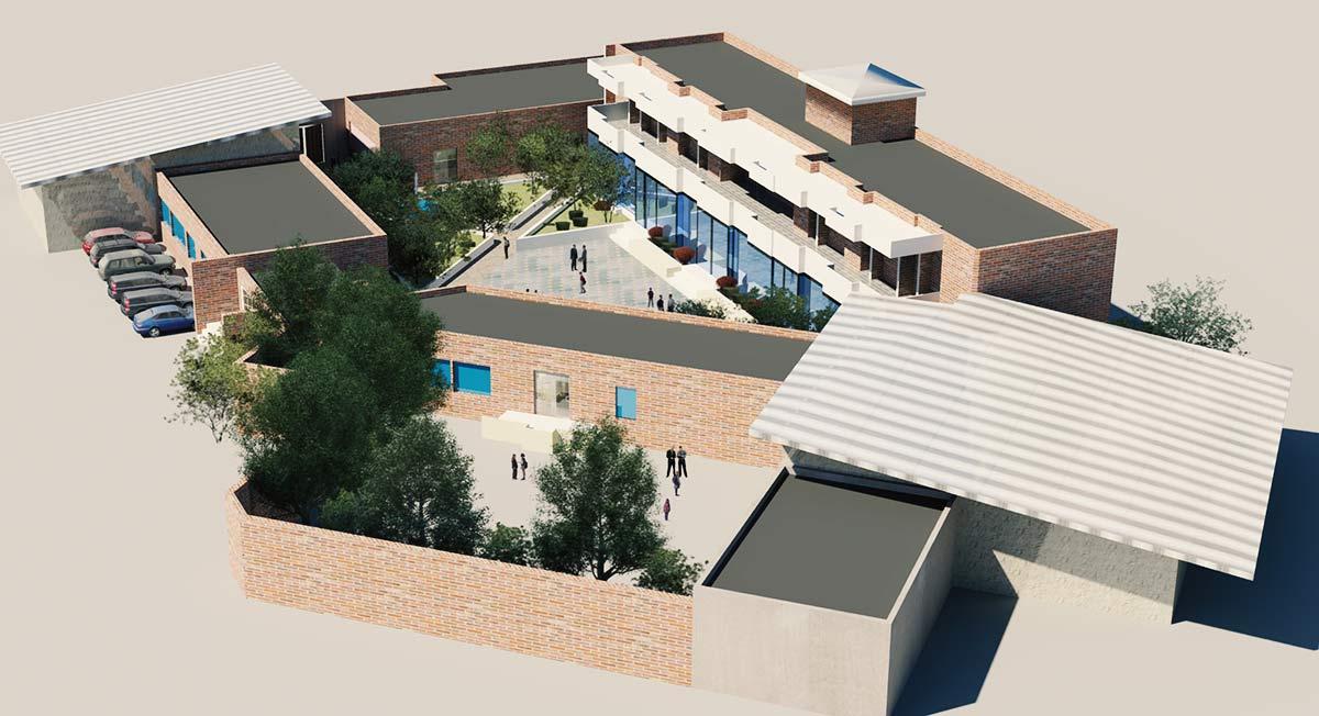 پروژه معماری طراحی مدرسه ابتدایی