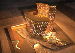 دانلود پروژه هتل 5 ستاره با فرم الهام گرفته از معماری ایرانی