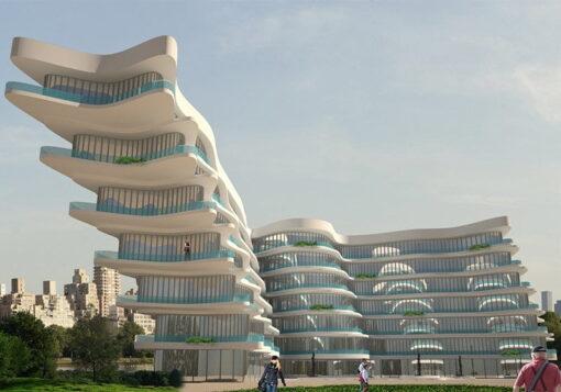پروژه معماری هتل 5ستاره
