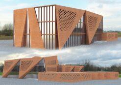 پروژه هنرستان معماری