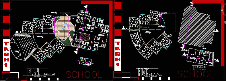 پلان مدرسه