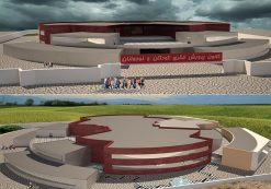 پروژه معماری کانون پرورش فکری کودکان و نوجوانان