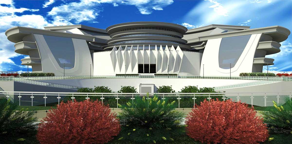 پروژه معماری شاپینگ سنتر