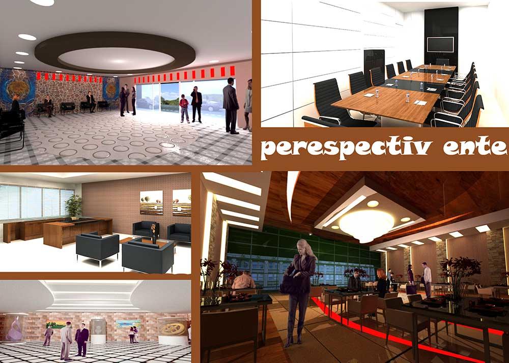 طراحی داخلی مجتمع تجاری فرهنگی