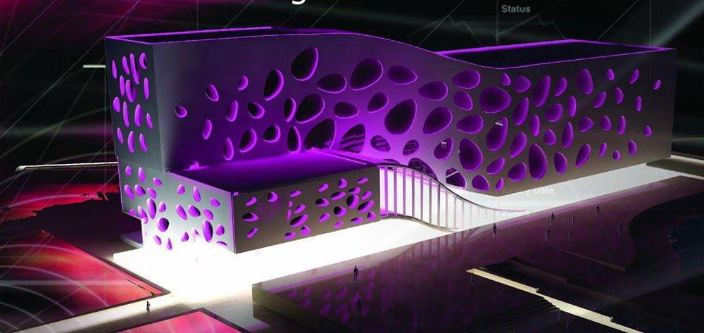 پروژه معماری سینما