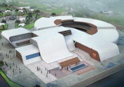 پایان نامه کامل موزه هنرهای مفهومی به همراه 3D و تمام فایلها