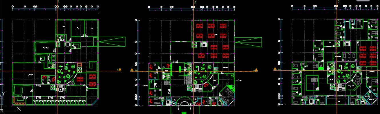 نقشه خانه سالمندان
