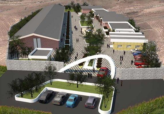 پروژه معماری سوله بصورت کامل و دقیق با طراحی ویژه در حد اجرایی