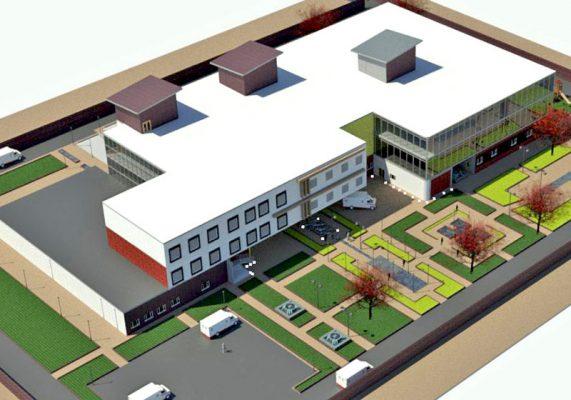 پروژه آماده بیمارستان برای درس طرح 4 معماری با طراحی عالی