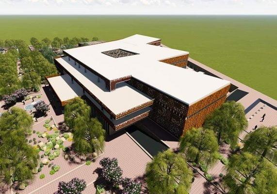 پروژه دانشکده هنر و معماری با الهام از معماری ایرانی
