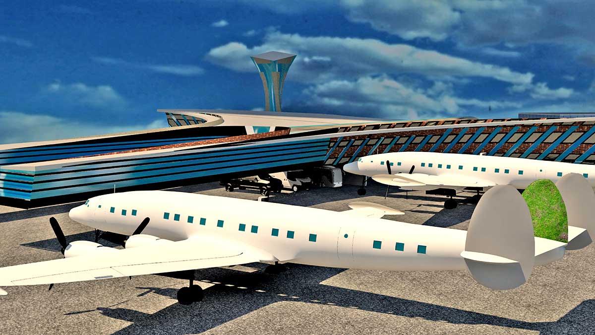 پروژه طرح 4 فرودگاه