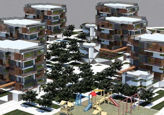 پروژه مسکونی طرح 5 با طراحی بسیار کامل و عالی و آماده ارائه