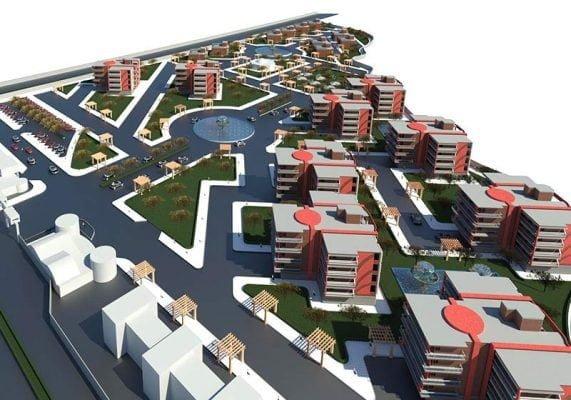 پروژه طرح 5 مجتمع مسکونی(فایل اتوکد،پلان،نما،رویت،3Dحرفهای)
