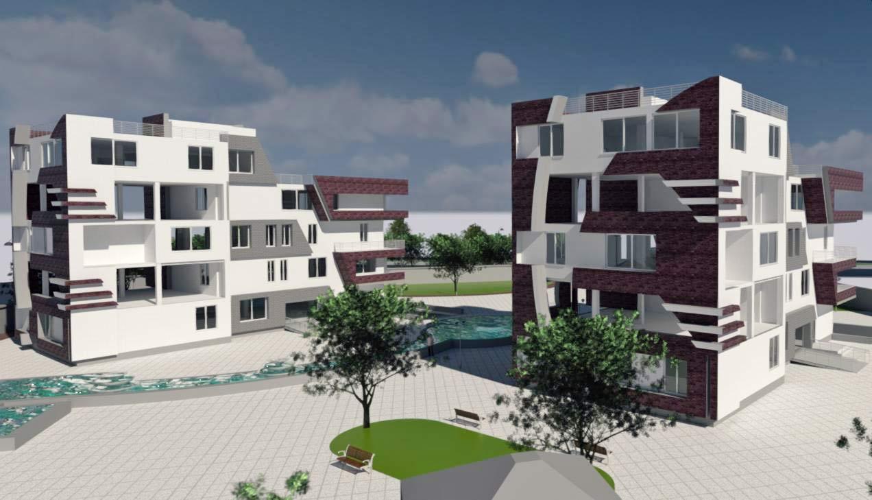 پروژه طرح 5 مجتمع مسکونی