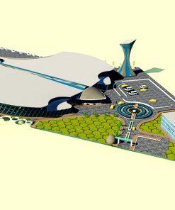 پروژه کامل فرودگاه