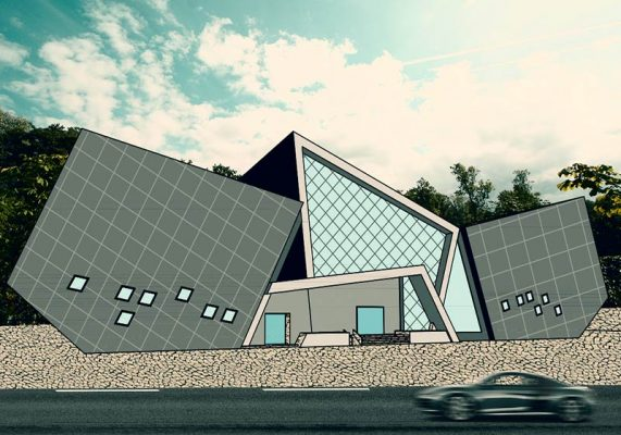 پلان موزه (پروژه کامل و آماده طراحی معماری موزه)