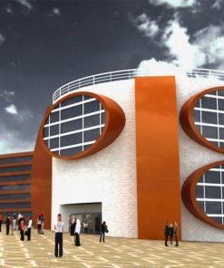پروژه طراحی موزه معاصر