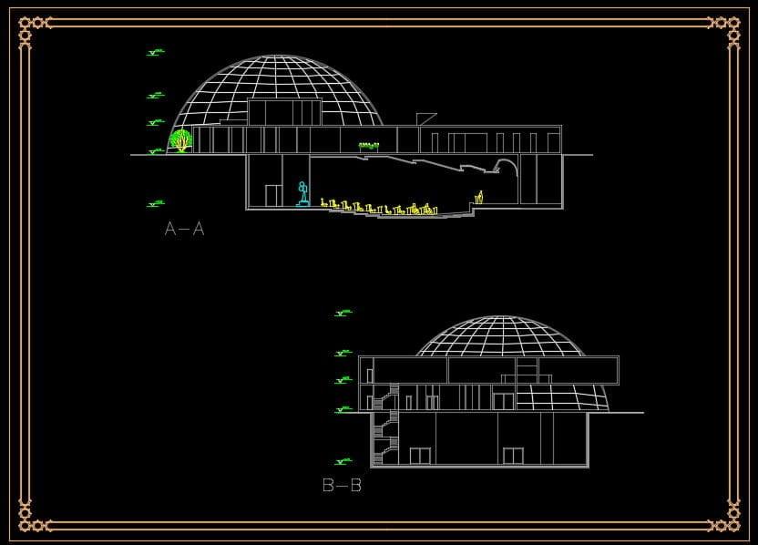 دانلود پروژه معماری موزه چوب