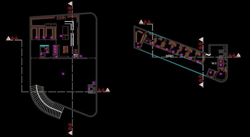 نقشه ایستگاه قطار
