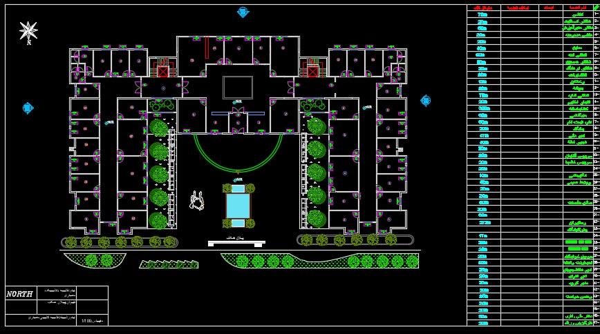 نقشه دانشکده