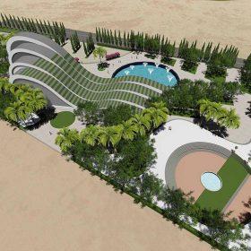 دانلود پروژه کامل طراحی موزه آب بهمراه 3D با معماری اختصاصی