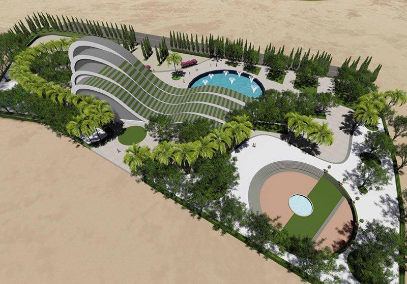 طراحی موزه آب