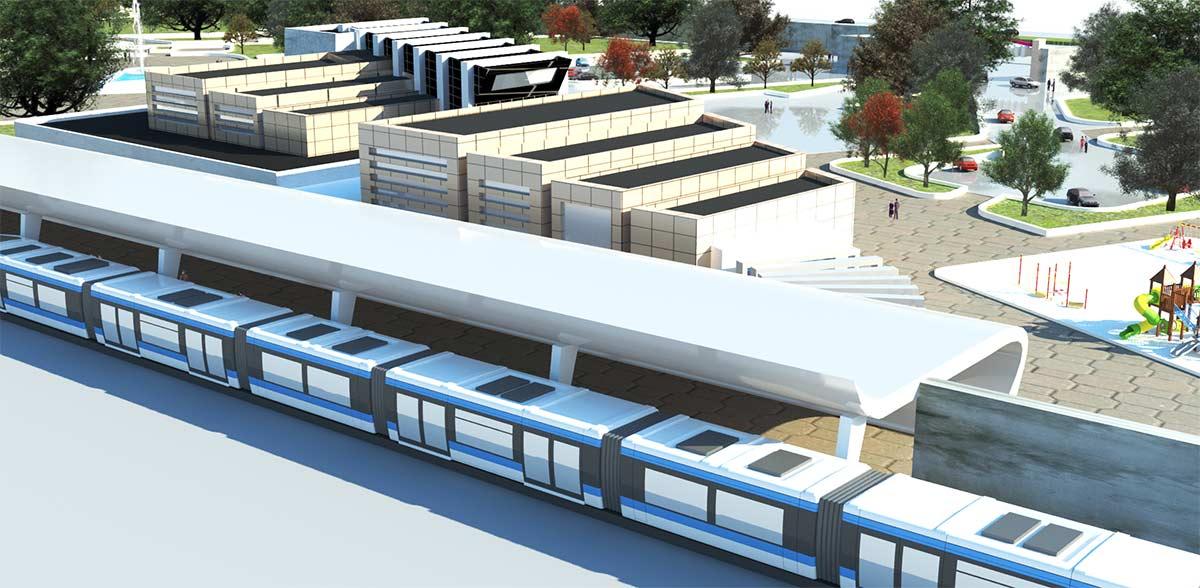 پروژه کامل ایستگاه قطار